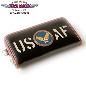トイズマッコイ TOYS McCOY レザーロングウォレット LEATHER LONG WALLET「U.S.A.F.」TMA2010|amekajishop-klax-on