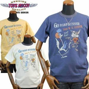 TOYS McCOYトイズマッコイ ミリタリーTシャツ R.RUNNER and W/COYOTEロ...