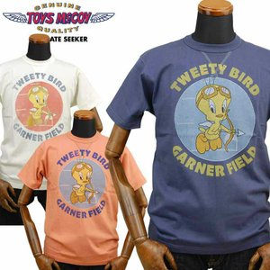 トイズマッコイ TOYS McCOY ミリタリーTシャツ TWEETY BIRD「GARNER FIELD」TMC2023|amekajishop-klax-on