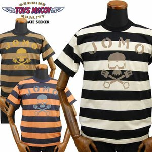 トイズマッコイ TOYS McCOY ボーダーTシャツ「JOMO」TMC2024|amekajishop-klax-on