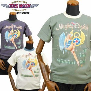 トイズマッコイ TOYS McCOY ミリタリーTシャツ「MIGHTY EIGHTH」TMC2043|amekajishop-klax-on