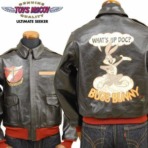 トイズマッコイ TOYS McCOY TYPE A-2 ROUGH WEAR CLOTHING CO.「BUGS BUNNY」TMJ2001|amekajishop-klax-on