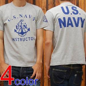 ミリタリーTシャツ「U.S.NAVY(U.S.N.)」◆アメカジ/メンズ◆|amekajishop-klax-on