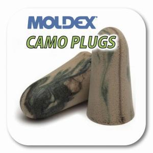 [1000円以上メール便無料] MOLDEX CAMO PLUGS モルデックス カモプラグ 耳栓 耳せん 1ペア