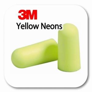 (1000円以上メール便無料) 3M E-A-Rsoft Yellow Neons スリーエム イエローネオン 耳栓 耳せん 1ペア