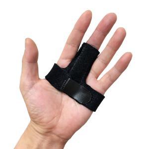 指サポーター ばね指サポーター 指保護 固定 アルミ板 バネ指 腱鞘炎 MP関節 サイズ調整自在 フリーサイズ|amenity2019