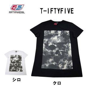 55DSL フィフティファイブ ディーエスエル メンズ半袖Tシャツ カットソー IFTYFIVE (13時までの注文は当日発送 土日祝日は除く)|america-direct
