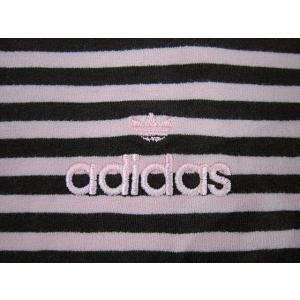adidas アディダス レディース 長袖Tシャツ ロールネック ボーダー  ストレッチ Winter Pink/Chocolate (13時までの注文は当日発送 土日祝日は除く)|america-direct|06