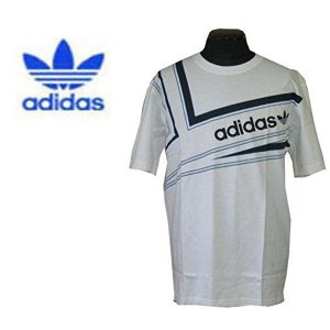 adidas アディダス メンズ半袖Tシャツ カットソー Slide tee White (13時までの注文は当日発送 土日祝日は除く)|america-direct