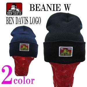 ベンデイビス BEN DAVIS メンズニット帽 ビーニー ニットキャップ ニット帽 ワッチキャップ W/BEN DAVIS LOGO (13時までの注文は当日発送 土日祝日は除く)|america-direct