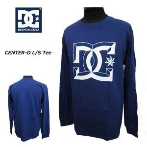 DC SHOES ディーシーシュー 長袖Tシャツ ロンT メンズ長袖Tシャツ カットソー CENTER-D (13時までの注文は当日発送 土日祝日は除く)|america-direct