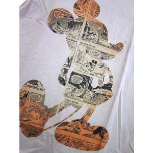 Disney Vintage ディズニー・ビンテージ レディース半袖カットソー Tシャツ ミッキーマウス MC アイボリー(M) (13時までの注文は当日発送 土日祝日は除く)|america-direct|02