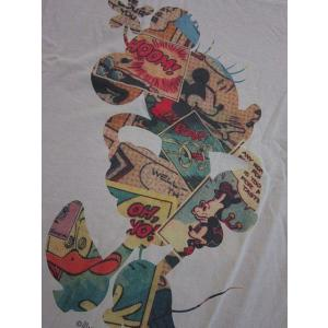 Disney Vintage ディズニー・ビンテージ レディース半袖カットソー Tシャツ ミニー MC Comic Books アイボリー (M) (13時までの注文は当日発送 土日祝日は除く)|america-direct|02