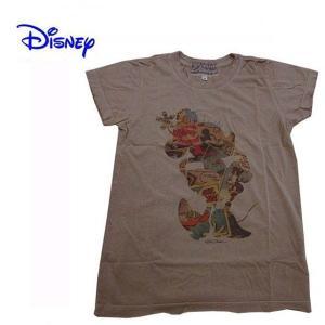 Disney Vintage ディズニー・ビンテージ レディース半袖カットソー Tシャツ ミニー MC Comic Books モカ (13時までの注文は当日発送 土日祝日は除く)|america-direct