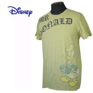DISNEY VINTAGE(ディズニーヴィンテージ) メンズ半袖Tシャツ カットソー ドナルドダック M24D3 グリーン (13時までの注文は当日発送 土日祝日は除く)|america-direct