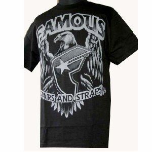 Famous Stars & Straps フェイマススターズ&ストラップス メンズ半袖Tシャツ カットソー Show ブラック (13時までの注文は当日発送 土日祝日は除く)|america-direct