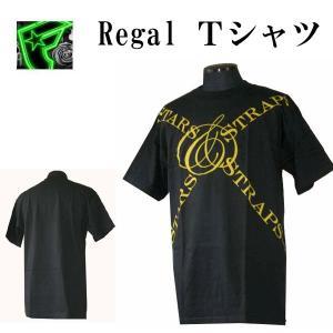 Famous Stars & Straps フェイマススターズ&ストラップス メンズ半袖Tシャツ カットソー Regal ブラック (13時までの注文は当日発送 土日祝日は除く)|america-direct