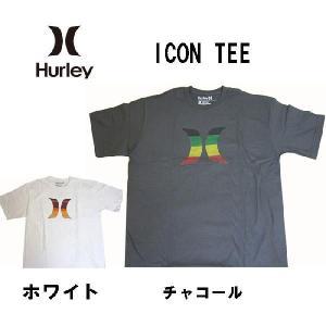 HURLEY ハーレー メンズ半袖Tシャツ カットソー ICON (13時までの注文は当日発送 土日祝日は除く)|america-direct