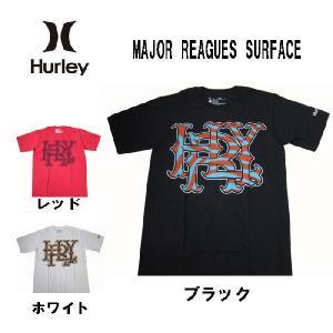 HURLEY ハーレー メンズ半袖Tシャツ カットソー major reagues surface (13時までの注文は当日発送 土日祝日は除く)|america-direct