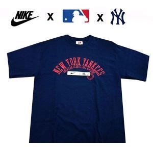 ナイキ NIKE メンズ半袖Tシャツ カットソー ヤンキース 大リーグ MLB Nonroster (13時までの注文は当日発送 土日祝日は除く)|america-direct