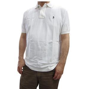 ポロ ラルフローレン POLO RALPH LAUREN メンズポロシャツ 半袖ポロ 4300710 オフホワイト (13時までの注文は当日発送 土日祝日は除く)|america-direct