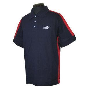 プーマ PUMA メンズ ポロシャツ#501467 ネイビー (13時までの注文は当日発送 土日祝日は除く) america-direct
