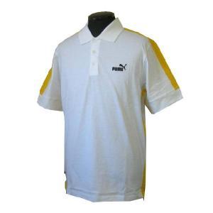 プーマ PUMA メンズ ポロシャツ#501467 シロ (13時までの注文は当日発送 土日祝日は除く) america-direct