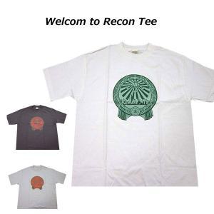 リーコン RECON メンズ半袖Tシャツ カットソー 半袖Tシャツ Welcom To Recon Tee (13時までの注文は当日発送 土日祝日は除く)|america-direct