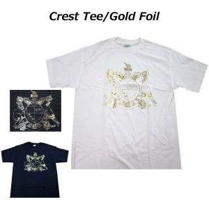 リーコン RECON メンズ半袖Tシャツ カットソー半袖Tシャツ Crest Tee (13時までの注文は当日発送 土日祝日は除く)|america-direct