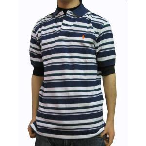 ポロ ラルフローレン POLO RALPH LAUREN メンズポロシャツ ボーダー ポロシャツ POLO Classics 1 ネイビー (13時までの注文は当日発送 土日祝日は除く)|america-direct