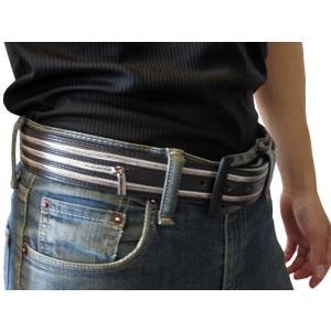 Silver Star (シルバースター) メンズベルト Leather Belt レザーベルト 本革 (13時までの注文は当日発送 土日祝日は除く)|america-direct|03