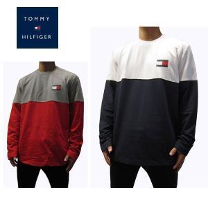 トミーヒルフィガー TOMMY HILFIGER メンズ長袖Tシャツ カットソー  ロンT トミー ジーンズ (13時までの注文は当日発送 土日祝日は除く)|america-direct