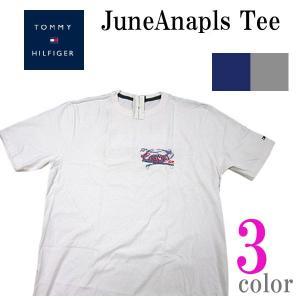 トミーヒルフィガー TOMMY HILFIGER メンズ半袖Tシャツ カットソー June Anapls (13時までの注文は当日発送 土日祝日は除く)|america-direct