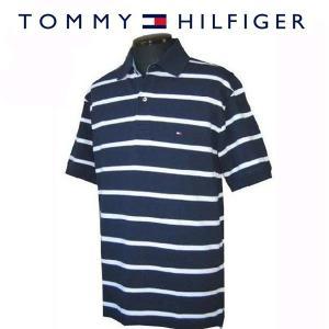 トミーヒルフィガー TOMMY HILFIGER メンズポロシャツ 半袖かの子ボーダーポロ (13時までの注文は当日発送 土日祝日は除く) america-direct