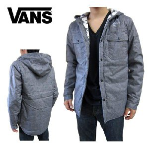 VANS バンズ メンズキルティング フーディー パーカ ジャケット ブルゾン STINSON  XS (日本サイズSからMに相当) (13時までの注文は当日発送 土日祝日は除く)|america-direct