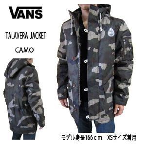 VANS バンズ メンズ ジャケットフーディー パーカー カモ柄 TALAVERA JACKET (13時までの注文は当日発送 土日祝日は除く)|america-direct