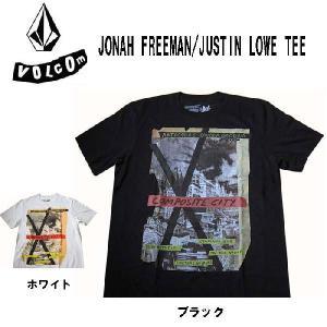 ボルコム VOLCOM メンズ半袖Tシャツ カットソー JONAH FREEMAN/JUSTIN LOWE TEE (13時までの注文は当日発送 土日祝日は除く)|america-direct