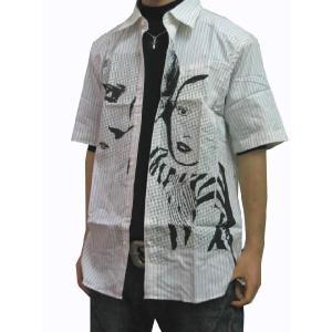 ボルコム VOLCOM メンズ半袖シャツ カジュアルシャツ Clockwork シロ (13時までの注文は当日発送 土日祝日は除く)|america-direct