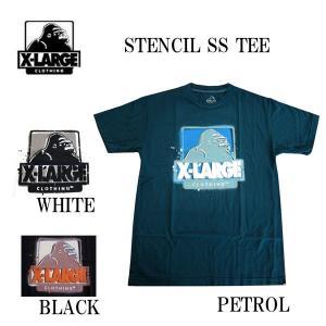 エクストララージ X-LARGE メンズ半袖Tシャツ カットソー STENCIL (13時までの注文は当日発送 土日祝日は除く)|america-direct