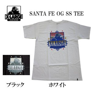 エクストララージ X-LARGE メンズ半袖Tシャツ カットソー SANTA FE OG (13時までの注文は当日発送 土日祝日は除く)|america-direct