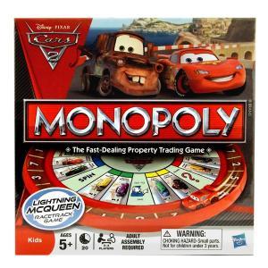 アメリカンゲームの代表格、モノポリーがディズニー・PixarのCars2のキャラクターで登場! キャ...
