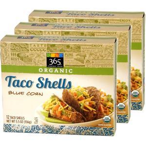 365 タコス用シェル オーガニック ブルーコーン/イエローコーン 選べる3箱