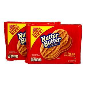 ナッターバター ピーナッツバター サンドイッチ クッキー 2パック