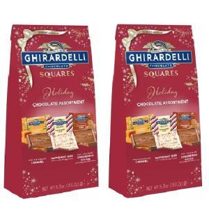 Ghirardelli ギラデリー ホリデー チョコレート アソートメント 2個