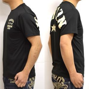 当店別注 バンソン VANSON ABV-901 ドライ 半袖 Tシャツ レギュラータイプ 吸汗速乾  抗菌防臭 UVカット|americanbass|04