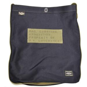 バズリクソンズ ポーター BR02616 ジャングルクロス ショルダーバッグ ネイビー色 鞄 BUZZ RICKSONS PORTER 吉田カバン|americanbass