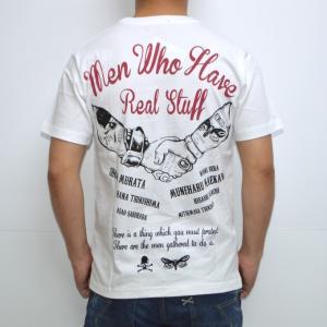 クローズ×ワースト NCR-19 半袖Tシャツ ホワイト色 戸亜留市 CROWS WORST|americanbass