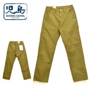 児島ジーンズ KOJIMA GENES RNB-1263 富士金梅帆布ペインターパンツ カーキ色 ボトムス メンズ|americanbass