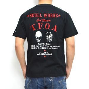 クローズ×ワースト SWT-01 半袖Tシャツ ブラック色 柳臣次モデル CROWS WORST|americanbass