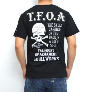 クローズ×ワースト SWT-05 半袖Tシャツ ブラック色 村田将吾モデル CROWS WORST|americanbass
